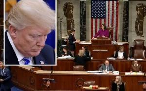 Cámara baja aprobó someter a Trump a juicio político; podría ser destituído