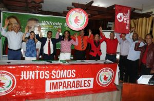 OCOA: Juntos Podemos presenta a Wilfredo Tejeda candidato a alcalde