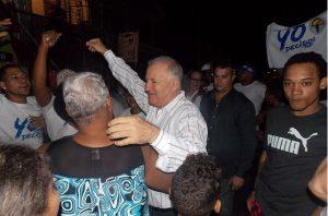 Asopaos populares se convierten en manifestaciones a favor de Serulle