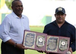 Cangrejeros de Santurce reconocen a Pedro Guerrero y a Franklin Grullón
