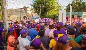 SDN: Candidato a la alcaldía Carlos Guzmán recibe respaldo en Sabana Perdida