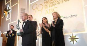 MADRID: Pepín Corripio recibe el premio «Luca de Tena» en España