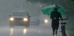 Onamet anuncia aguaceros para esta tarde y advierte sobre inundaciones