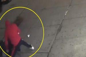 Policía persigue hombre robó y dio paliza a un frutero en El Bronx