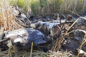 BAHORUCO: Dos personas mueren al caer avioneta de origen desconocido