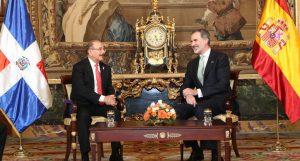 ESPAÑA: El Rey se reúne con el presidente RD Danilo Medina