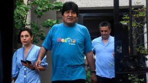Evo Morales lanzará campaña presidencial desde Buenos Aires