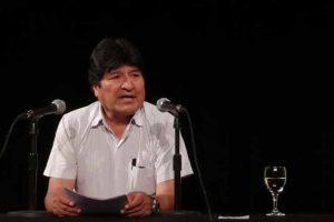 ARGENTINA: Evo Morales asegura aún es presidente de Bolivia