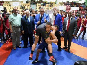 Mao conquista Torneo Nacional de Lucha Copa Navideña