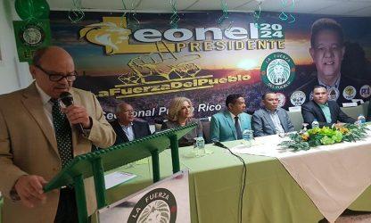 PUERTO RICO: Juramentan equipo de campaña de La Fuerza del Pueblo