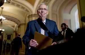 WASHINGTON: Líder Senado vuelve a descartar destituir a Donald Trump
