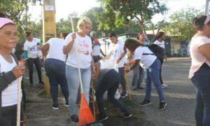 SDO: Alcaldía inicia operativo de limpieza con motivo de la Navidad