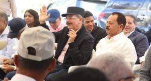 LOMA DE CABRERA: Presidente DM dispone fortalecer producción lechera