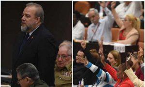 Parlamento de Cuba elige extitular de Turismo como Primer Ministro