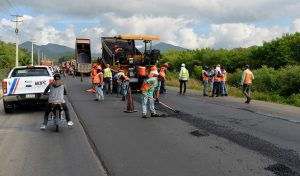 MOPC avanza más  90% construcción carretera Navarrete-Puerto Plata