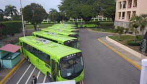 La Presidencia entrega a la OMSA 70 autobuses capacidad 220 pasajeros