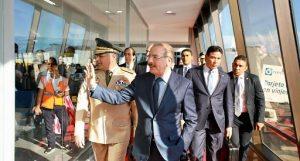Medina regresa al país tras participar en la Conferencia del Clima en Madrid