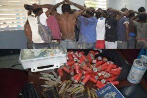 Operación policial arresta a 38 presuntos criminales en Haití