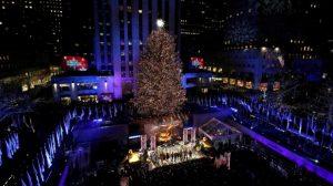 Llega la Navidad a Nueva York con el encendido árbol Rockefeller Center
