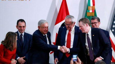 MEXICO: Firman el Tratado de Libre Comercio de América del Norte
