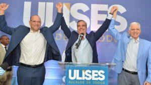 SANTIAGO: Abinader proclama a Ulises Rodríguez candidato a alcalde