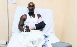 BANI: Asaltan y dan brutal paliza al conocido escultor Wandy Casilla