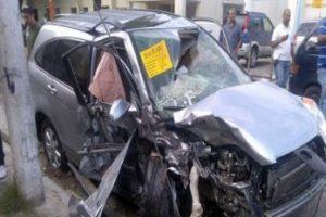 Dos personas muertas y cuatro heridas en accidente tránsito