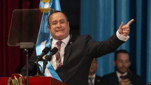 GUATEMALA: Alejandro Giammattei juramenta como nuevo presidente