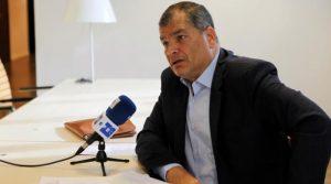 """Correa califica de """"payasada"""" el caso Sobornos por el que le llaman a juicio"""
