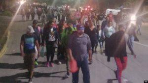 HONDURAS: Nueva caravana de migrantes parte hacia Estados Unidos