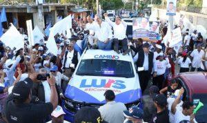 """Abinader dice """"apoyo al cambio"""" es cada vez más fuerte y notorio en RD"""