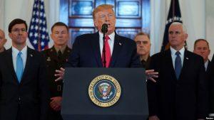 EE.UU.: Donald Trump confirma no hubo muertos por el ataque de Irán