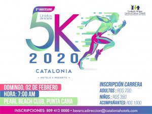Informe turístico: harán 5ta Carrera Catalonia 5K