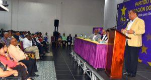 Candidatos del PLD en el Este y Provincia Santo Domingo se reúnen
