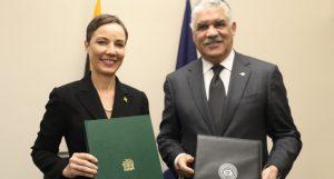 República Dominicana y Jamaica acuerdan fomentar relaciones