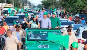 Leonel ve impresionante y creciente apoyo que recibe Fuerza del Pueblo