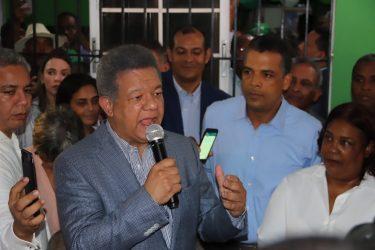 """Leonel: """"El pueblo tiene esperanza que FP dirija destinos del país"""""""