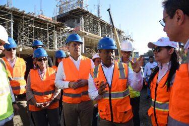 SDE: Obras Públicas acelera trabajos construcción nuevo Palacio de Justicia