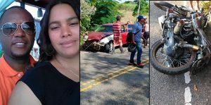 Dajabón: Muere arrollada por un camión pareja iba en una motocicleta