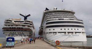 Sigue en Puerto Plata pujanza del turismo de cruceros
