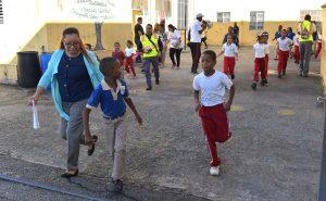 Hacen simulacros de desastres en tres mil escuelas dominicanas