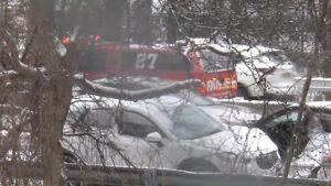 Choque en cadena deja varios heridos en El Bronx