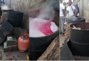 Prohíben práctica hervir alimentos en tanques de hierro en mercado