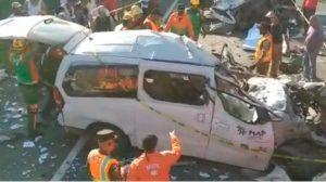 BONAO: Choque deja al menos cinco muertos y dos heridos de gravedad