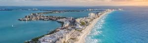 Cancún registra boom de nuevos vuelos turísticos nternacionales
