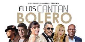 """Emblemáticos artistas dominicanos en concierto """"Ellos cantan boleros"""""""