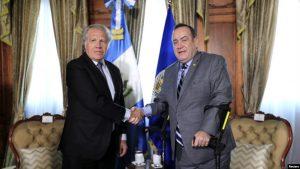 GUATEMALA: Presidente rompe relaciones con gobierno Venezuela