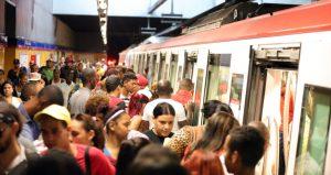 Dominicanos usaron más de 105 millones de veces Metro y Teleférico
