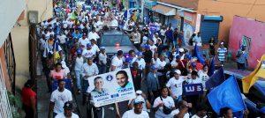 Manuel Jiménez encabezará marcha este sábado en sector El Almirante