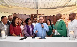 SDO: MOPC construirá una parroquia en el barrio Enriquillo de Herrera